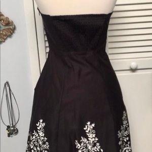 White House Black Market Dresses - WHITE HOUSE BLACK MARKET Halter Top Dress